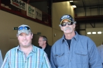 Tyler Mayo, BGM Inc. (left) and Craig Tanguay, Summit Crane Co.(right)