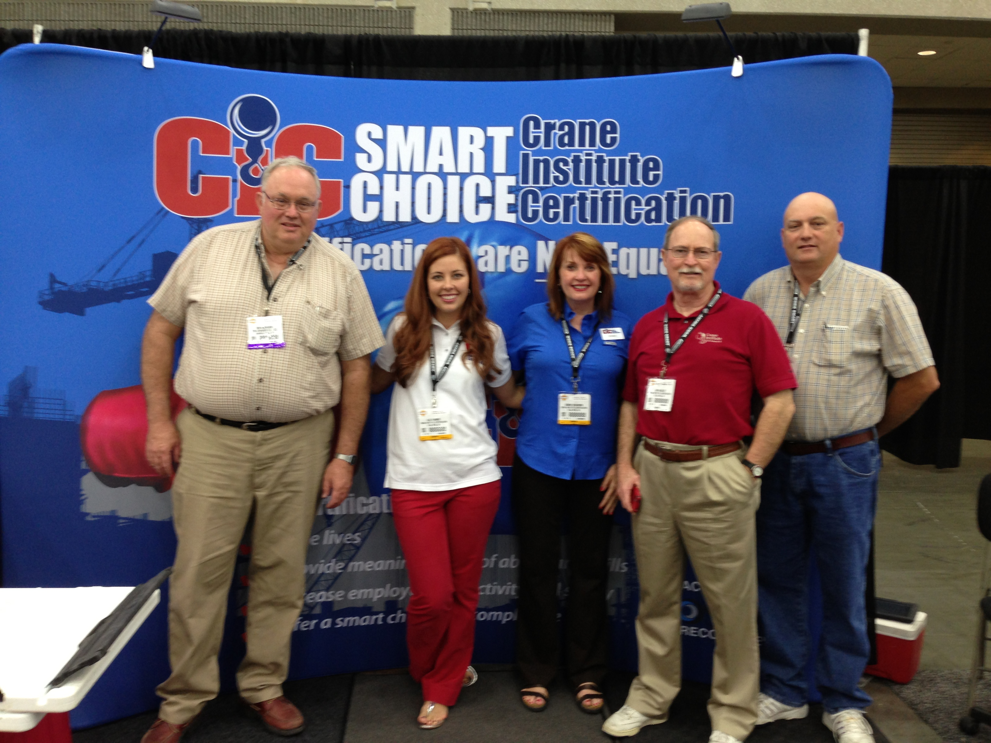 CIC booth at ICUEE